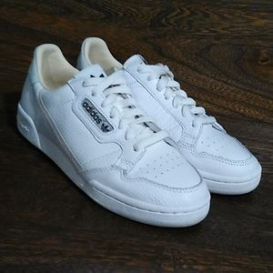Adidas Continental 80 white/pink leather 7.5